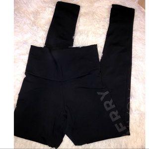 Açaí berry black leggings